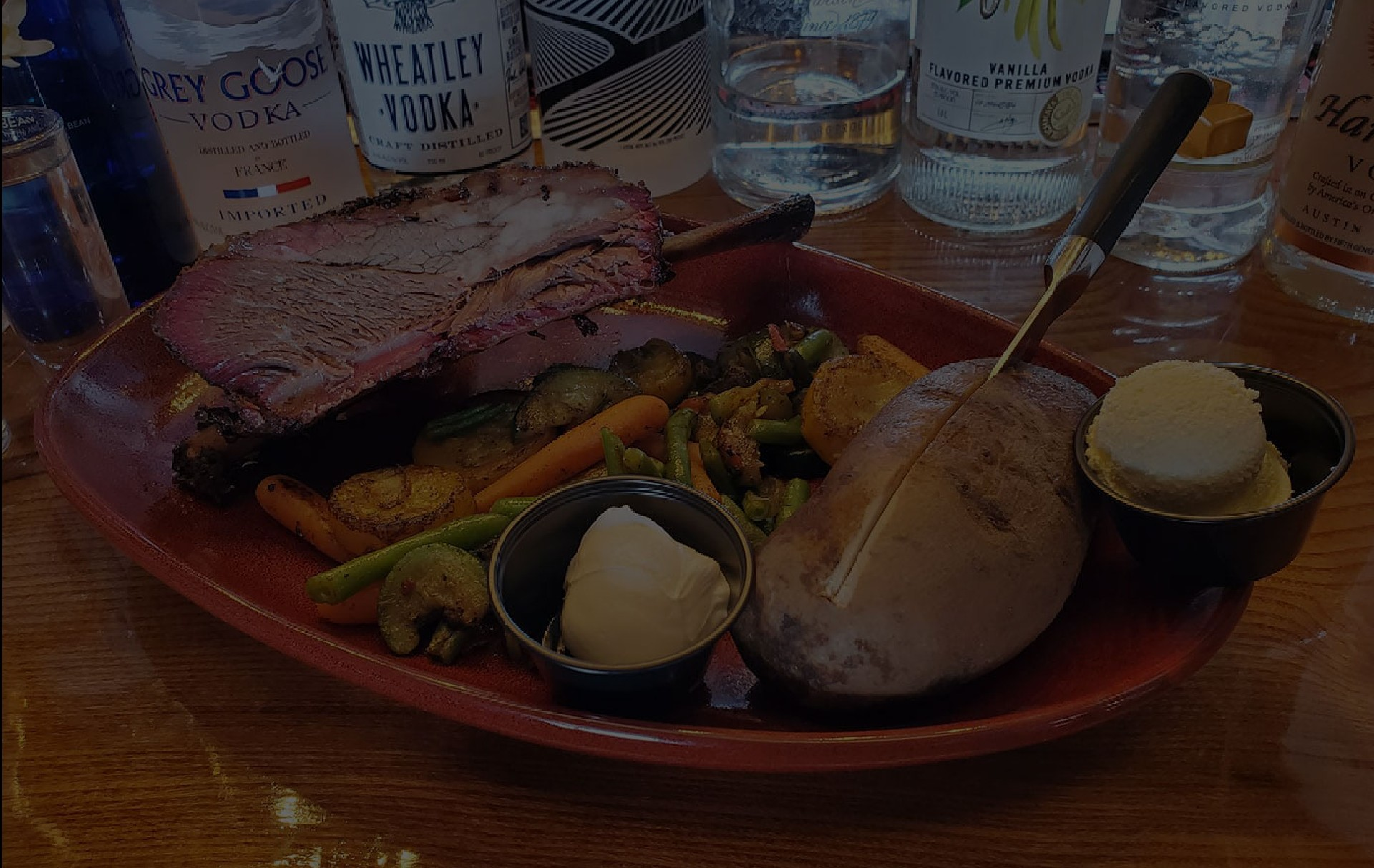 Tomahawk Steak Raging Bull Steakhouse